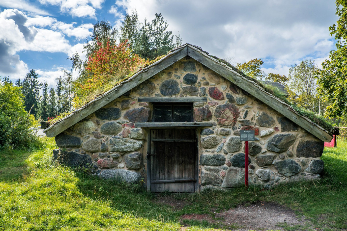 Old Swedish house, Skansen / Credit: Mariamichelle / Pixabay