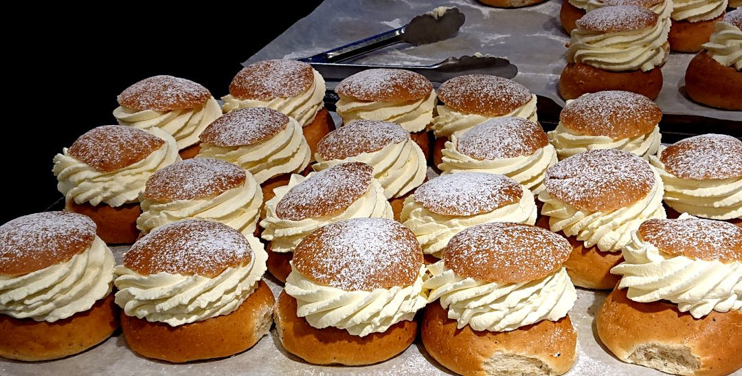 Semla, typical swedish lent buns