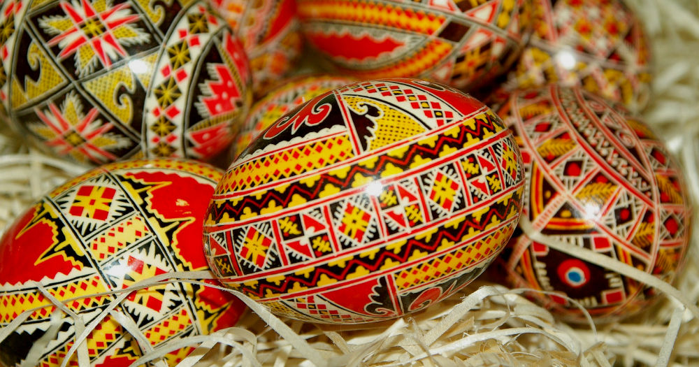 Painted Easter Eggs / Credit: Jackmac34 / Pixabay