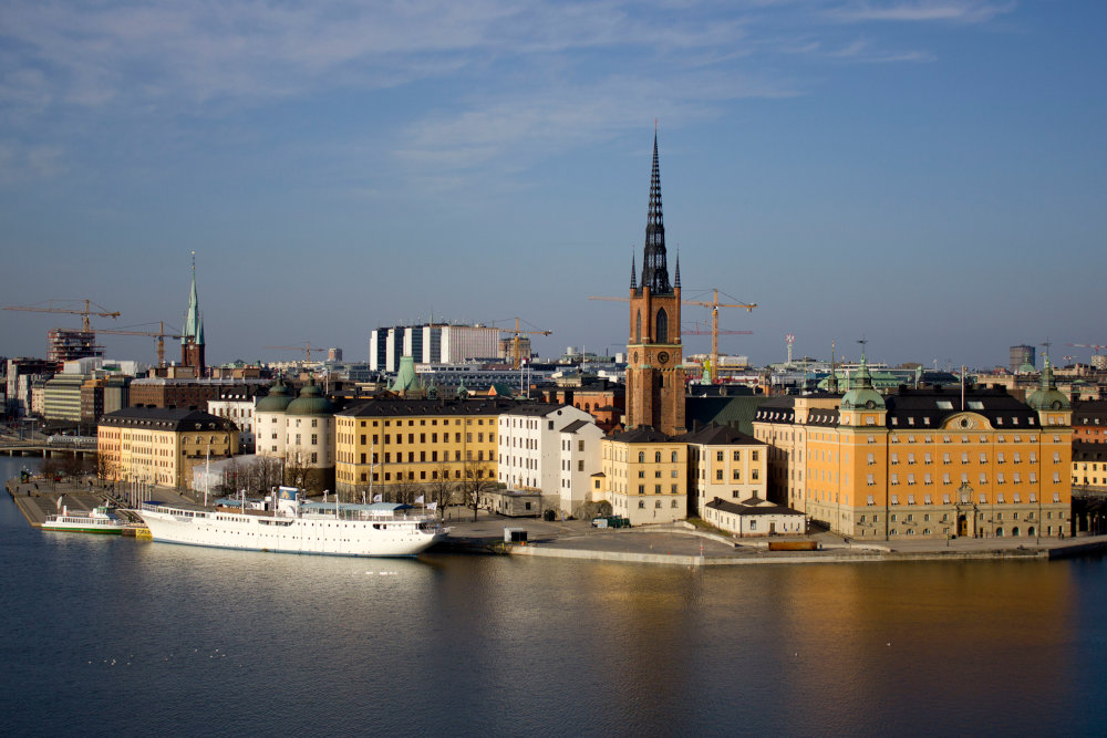 How to get to the city center from the Port of Stockholm?